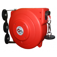Magnetic Retractable Safety Barrier Reel